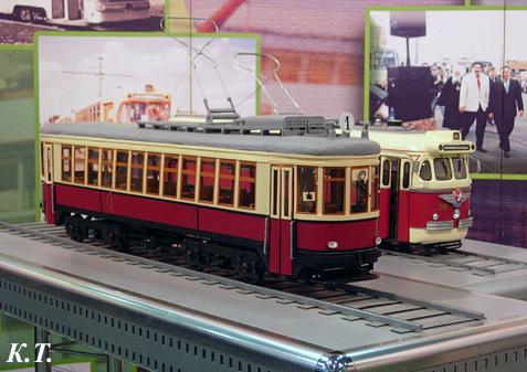 Модели трамвайных вагонов